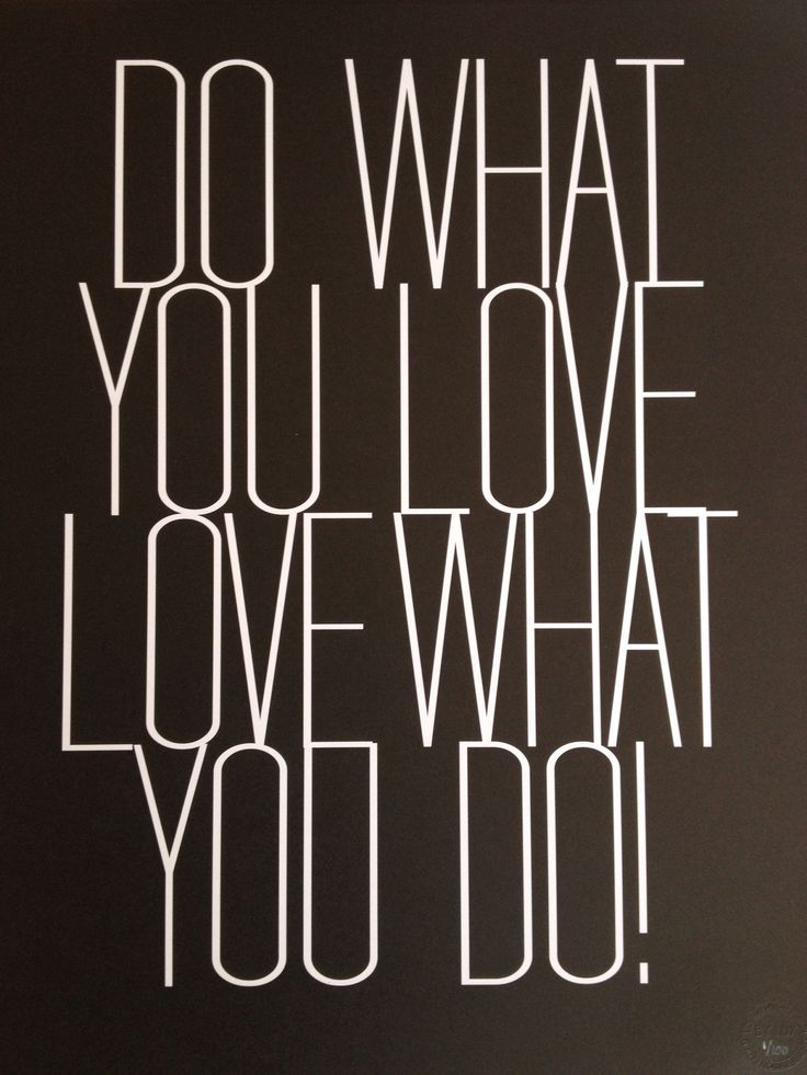 BY LUX // Love what you do!