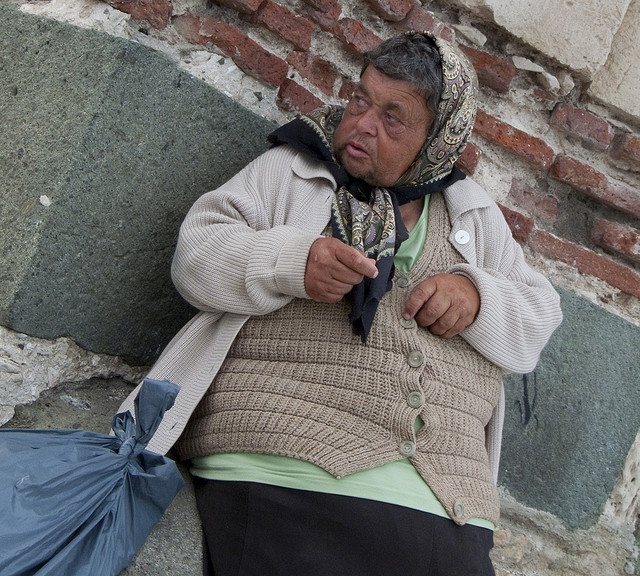 #bulgarian elderly woman