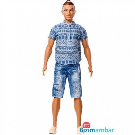 Barbie Ken Fashionistas FNJ38 Kot Pantalonlu