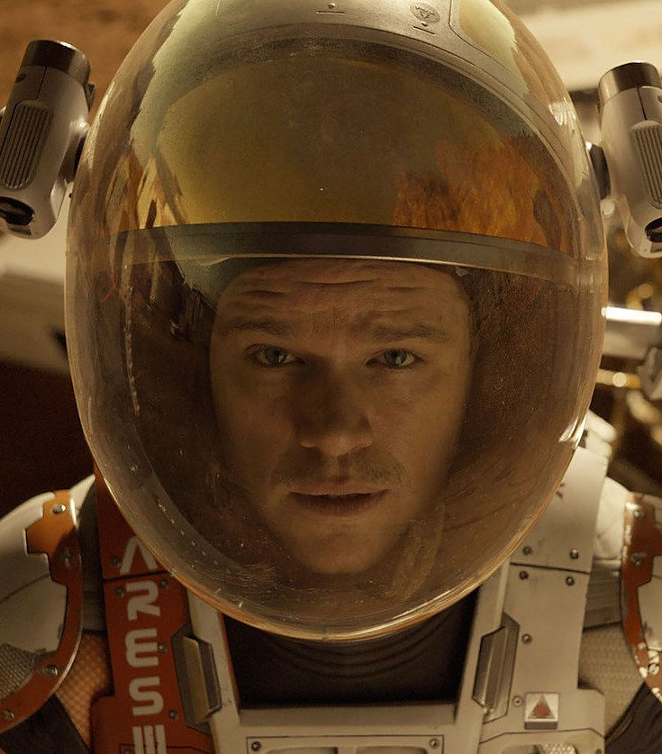 """How """"The Martian"""" Went From A Best-Selling Novel To A Blockbuster Film"""