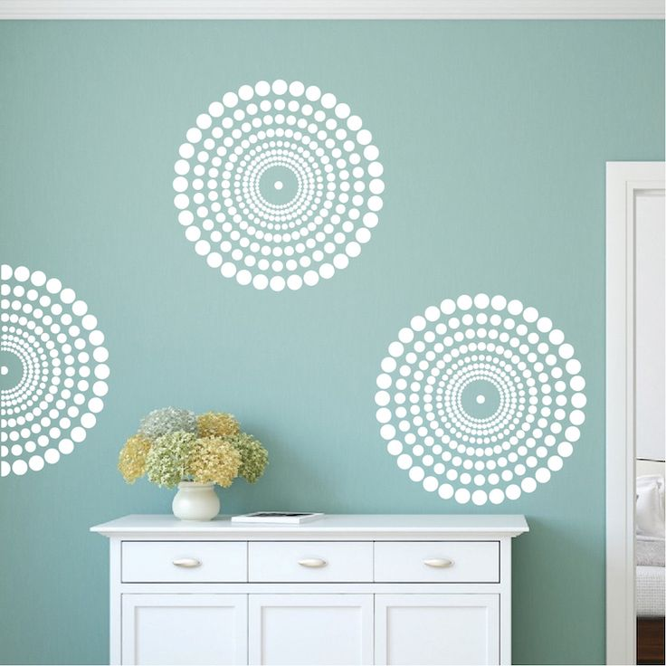 Contemporary Wall Decal | Wall Stencils | Vinyl Wall Bedroom Stickers | Removable Wall Art Murals | Trendy Wall Designs