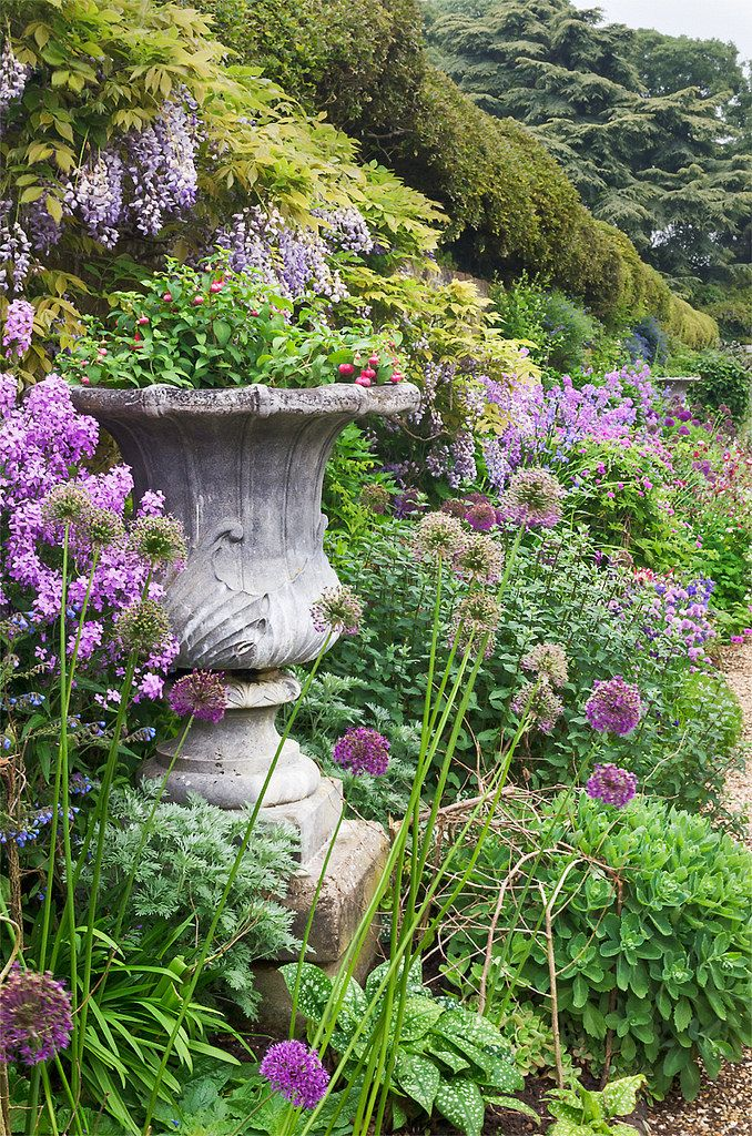 English Herbaceous Borders | Ascott House Gardens, Bedfordshire, England | ( 12 of 50)