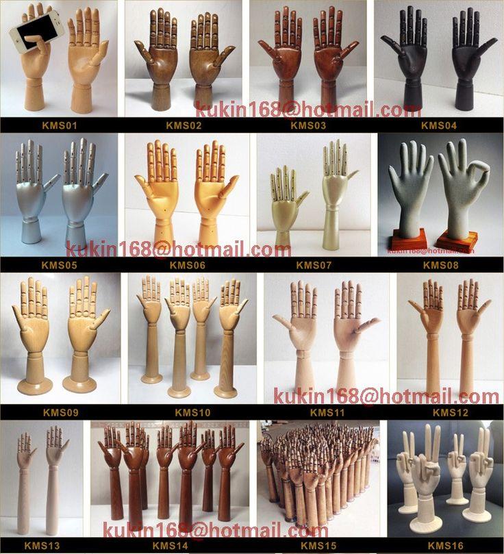 Деревянные рук модели для ювелирных изделий дисплея, Регулируемый манекен руки купить на AliExpress