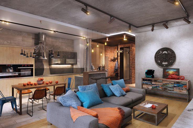 Индустриальное настоящее - ALNO. Современные кухни: дизайн и эргономика | PINWIN - конкурсы для архитекторов, дизайнеров, декораторов