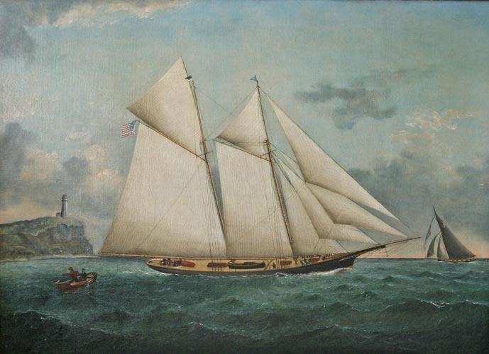 schooner painting
