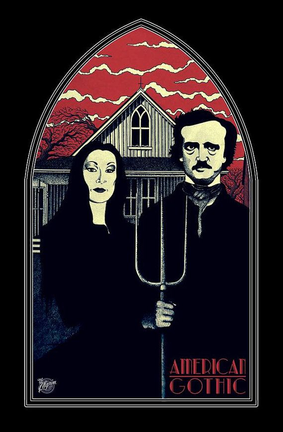 New American Gothic with Edgar Allan Poe