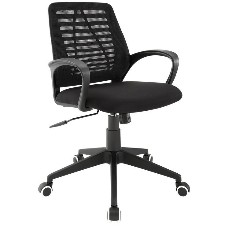 Newark #EEI-1250 Rethink your workday in Newark discount chairs. A great addition to our office chair sale, this mesh desk chair combines form-fitting ergonomics with an inventive aesthetic to keep productivity high while lowering both mental and physical stress. Model# EEI-1250