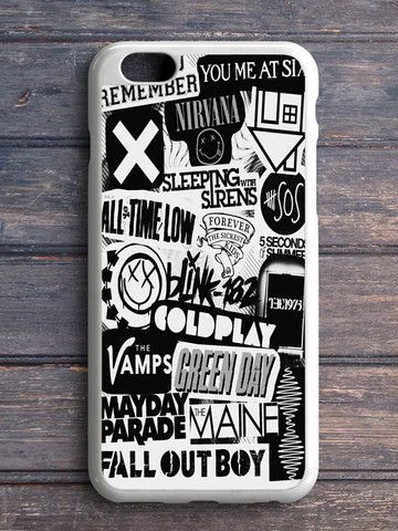 5sos Coldplay Fall Out Boy The Vamps 1975 iPhone 5|C Case