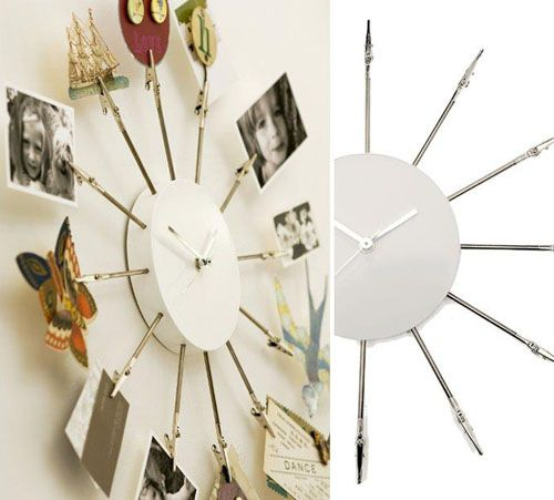 fresh idea whimsical clocks. clip clock 136 best Crazy for Clocks images on Pinterest  Craft Home ideas