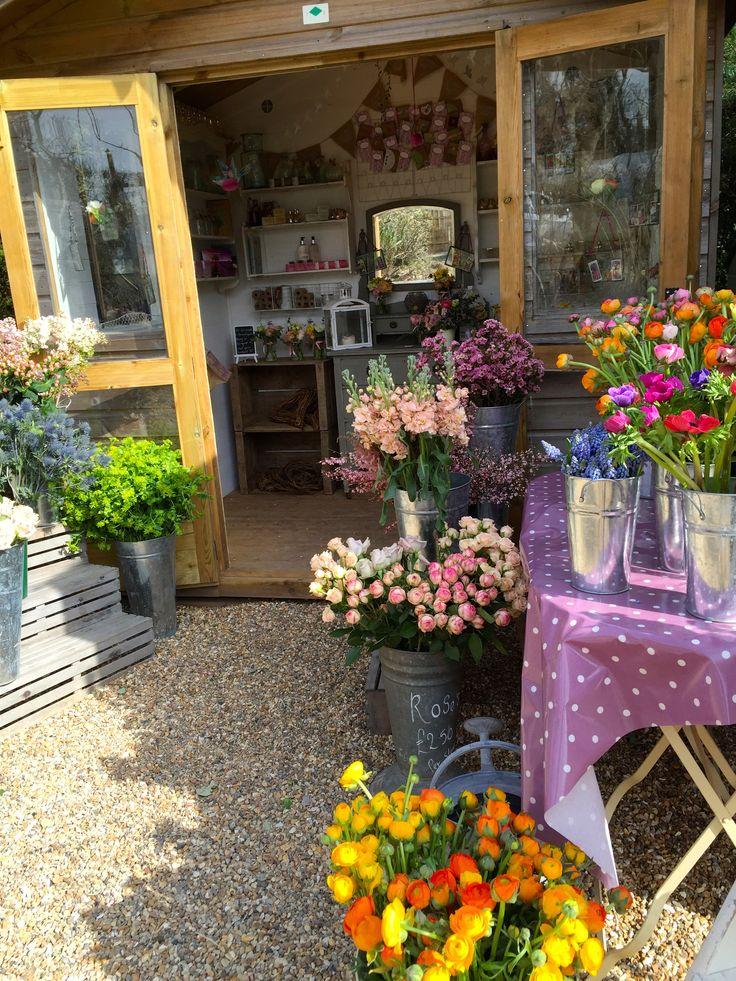 Flower Hut www.thenchantedflower.co.uk