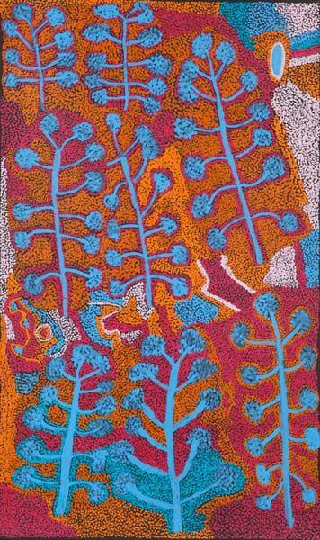aboriginal art inspiration: Kathleen Tjapalyi - 'Ngayuku Ngura'