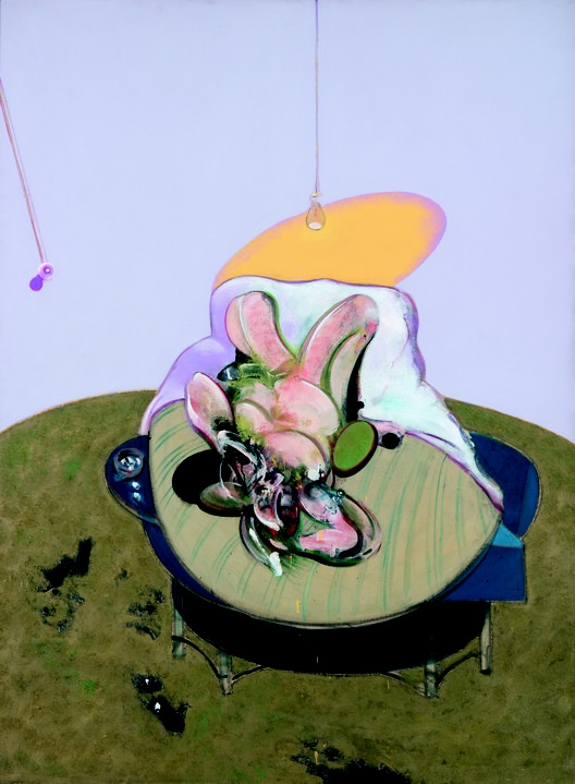 'Lying Figure' by Francis Bacon (1969)