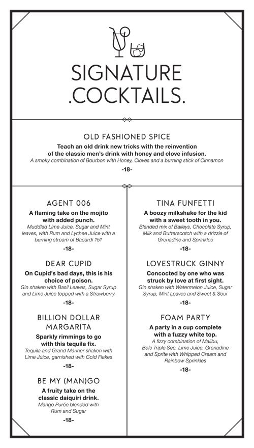 The best cocktail menu ideas on pinterest cocktails