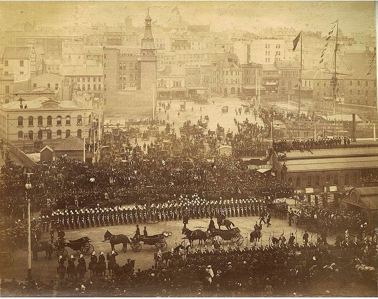 File:Arrival of Governor Sir Robert Duff, Circular Quay, Sydney, June 1893