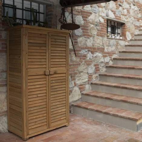 Armadio Solido da esterno in legno Jarsya | legno
