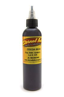 Eternal tattoo ink  Cocoa Bean color supply in india mumbai : Eternal tattoo ink  Cocoa Bean color supply in india mumbai | zaheerhamidbatli
