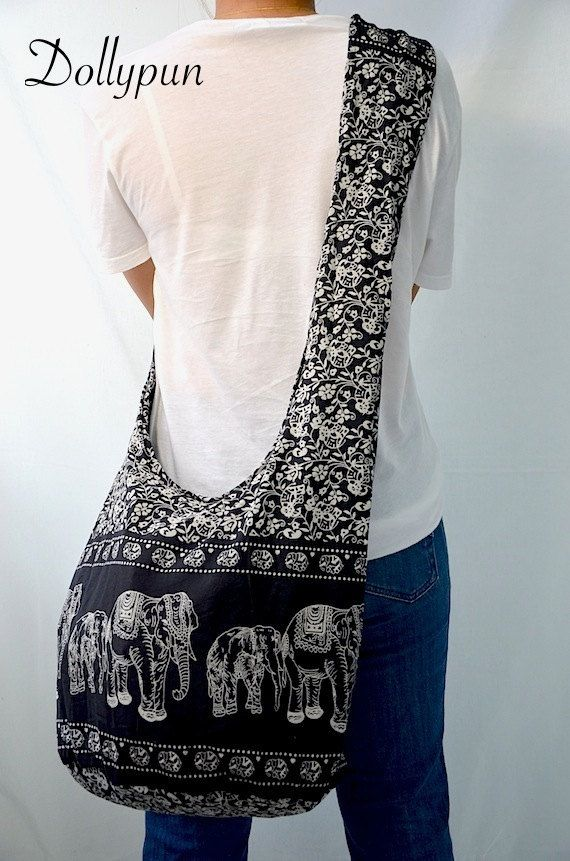 Hey, I found this really awesome Etsy listing at https://www.etsy.com/listing/106341285/absolute-black-hippie-elephant-printed