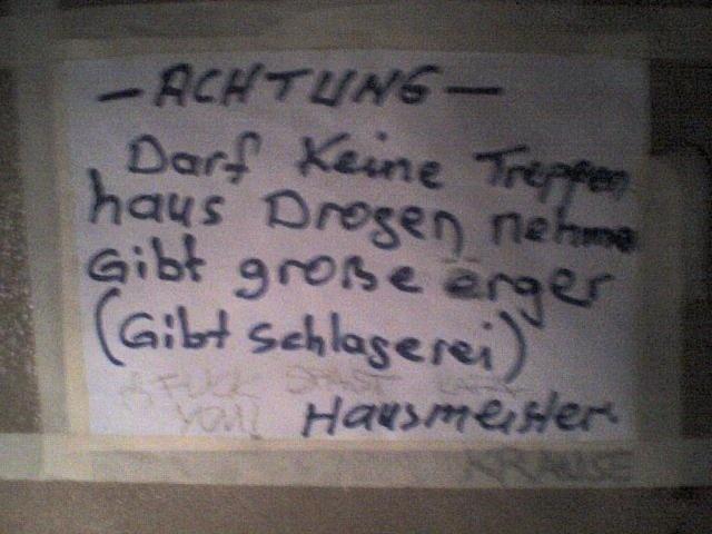 Achtung der Hausmeister!!!