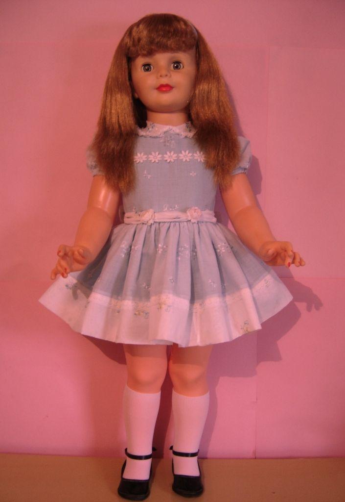 Bonecas Antigas: Restauração - Amiguinha 1960