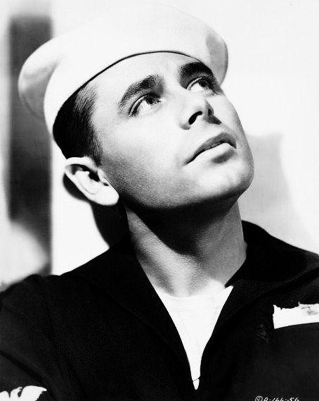 Glenn Ford, 1940s.Handsome Sailors, Pretty Sailors
