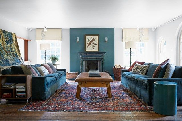 Living Room With Turquoise Accents Reclaimed Furniture Living Room Couches And Turquoise