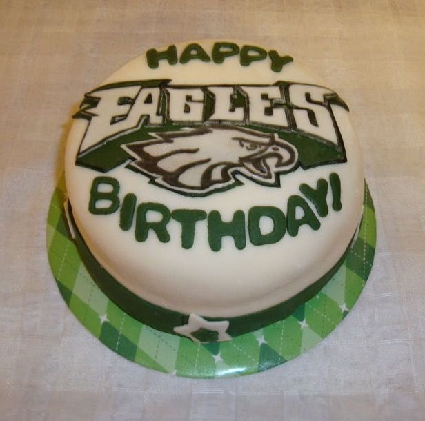 13 best Philadelphia Eagles Cakes images on Pinterest Football