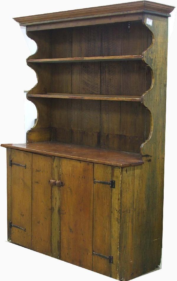 pine pewter step back cupboard - 1269 Best Primitive Decor Images On Pinterest Furniture, Colors