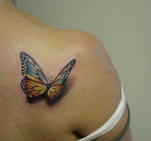 Tattoo Bikini: 35 Breathtaking Butterfly Tattoo Designs For Women