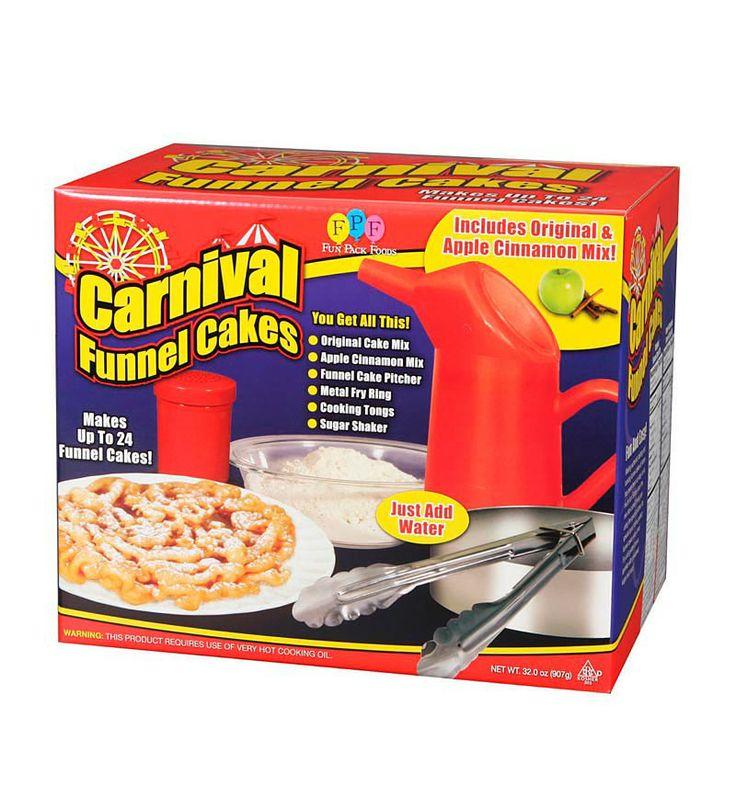 Funnel Cake Starter Kit