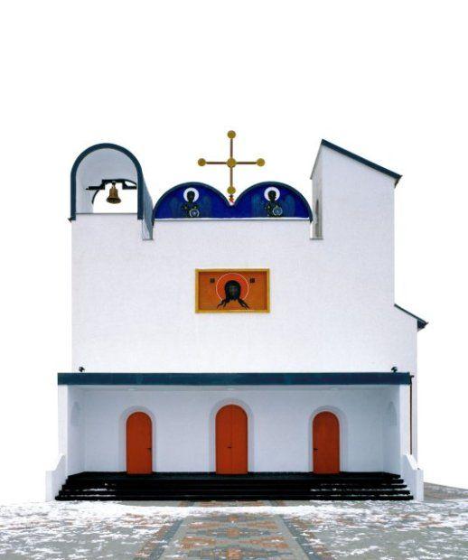 Cerkiew w Białym Borze - Biały Bór (Pomorze Zachodnie)(autorzy: Jerzy Nowosielski, Bogdan Kotarba) (Fot. Architektura-Murator)