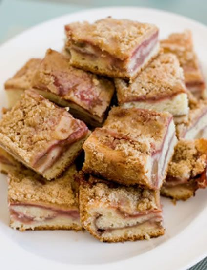 The Best Recipe for Rhubarb Coffee Cake | Decadent Dessert Recipes