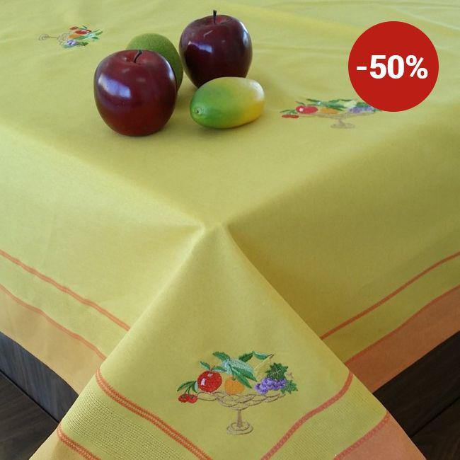 Față de masă Valentini Bianco WKY2