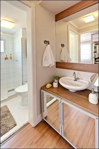 Banheiro empreendimento Parque Canoas Allegro #RS / Parque Canoas Allegro Bathroom - 1