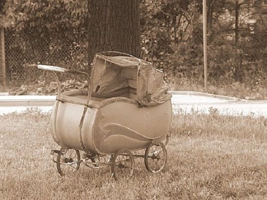 Детская коляска - вчера и сегодня