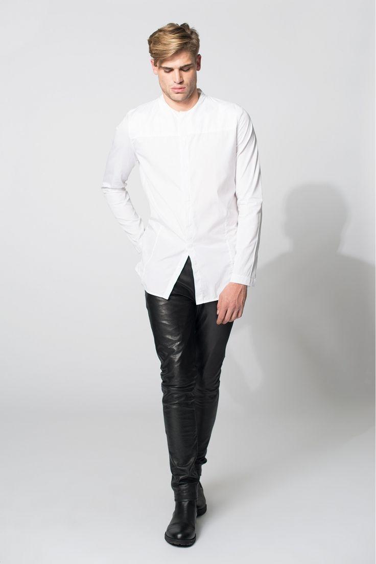 Kean / Langes Hemd aus Baumwolle