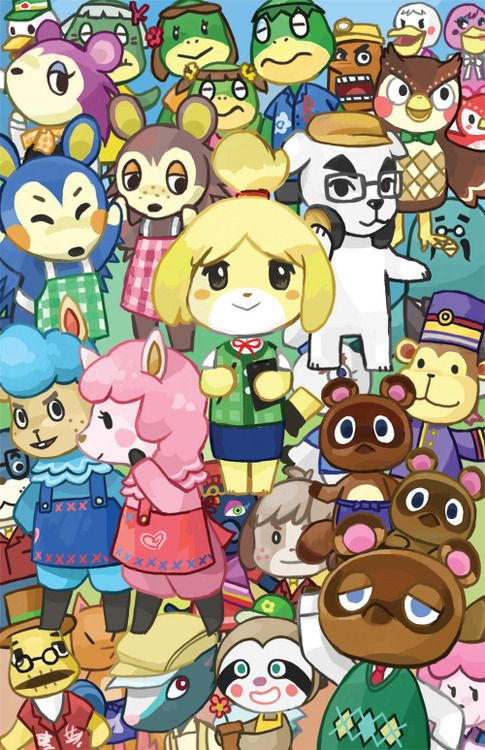 sooyunchoi:  been playing too muchanimal crossing lately  #AnimalCrossing