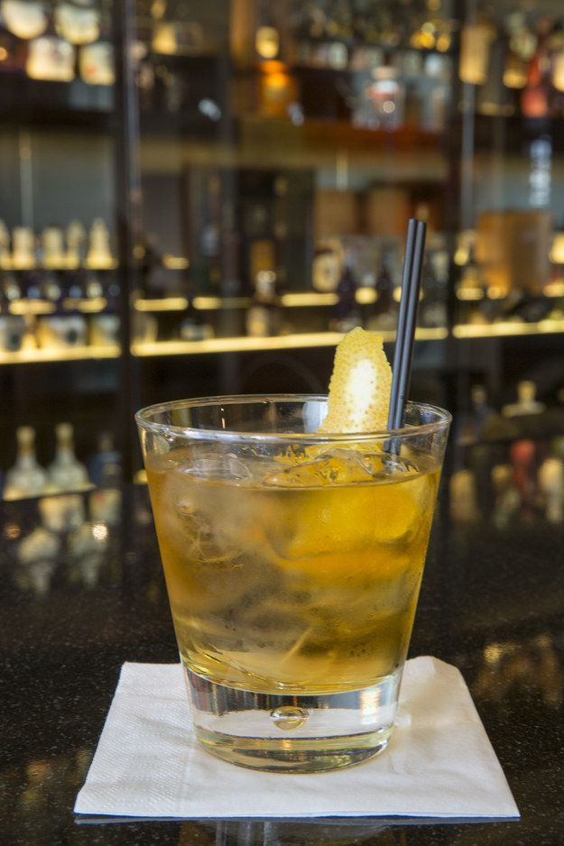 Or, for extra refreshment, try a classic Rusty Nail. | This Is How You Should Actually Be Drinking Whisky