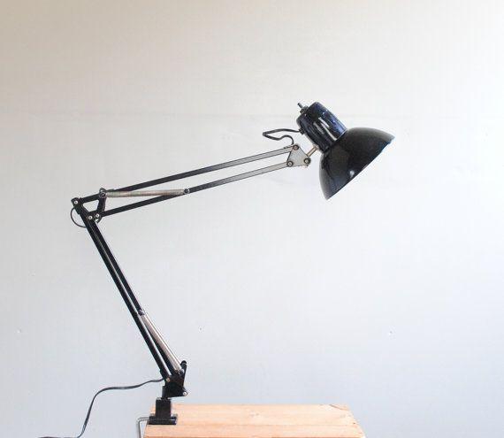 clamp desk lamp vintage clamp lamp desk lamp desks lamps and vintage. Black Bedroom Furniture Sets. Home Design Ideas