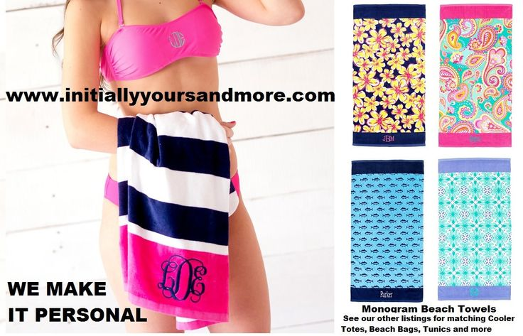 best 25  monogrammed beach towels ideas on pinterest