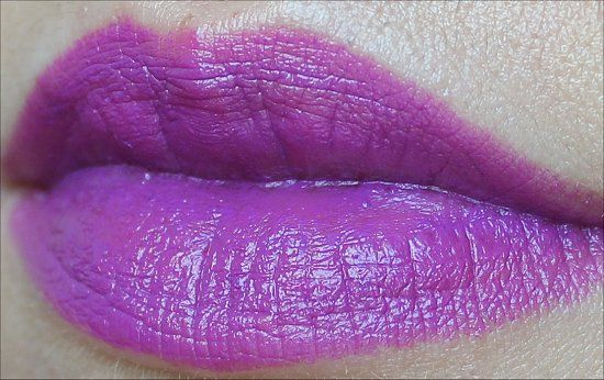 MAC Heroine Lipstick from the Fashion Sets Collection! (Click through for an in-depth review and more swatches.)