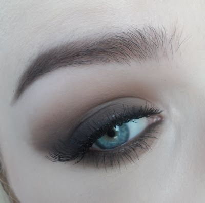 Love thing...: Basic Brown Smokey Eye Tutorial - Naked Basic palette