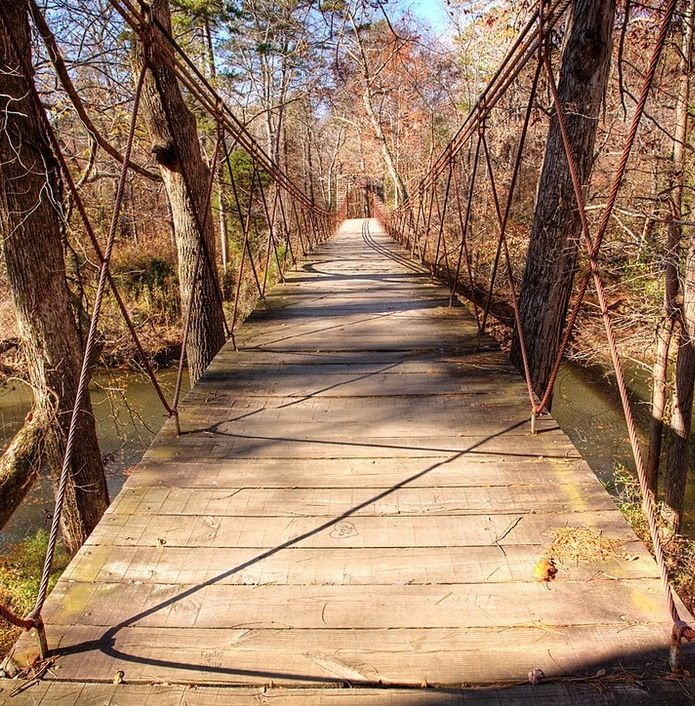 Tishomingo State Park in Mississippi is steeped in history and scenic beauty.