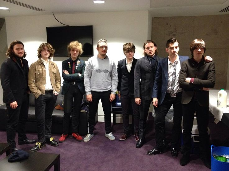 Arctic Monkeys and The Strypes