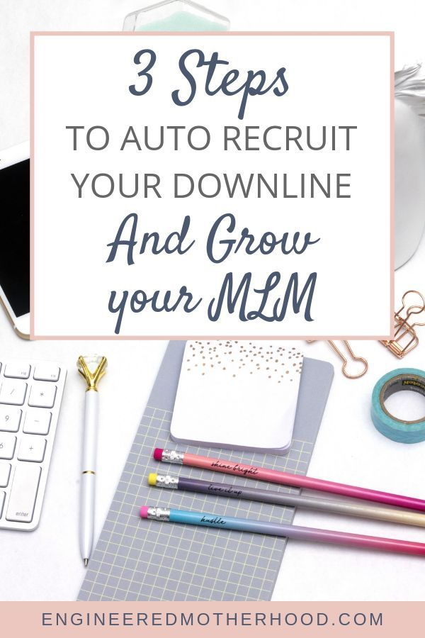 How to grow your MLM on autopilot while you sleep! network marketing  success 869b1f58e85