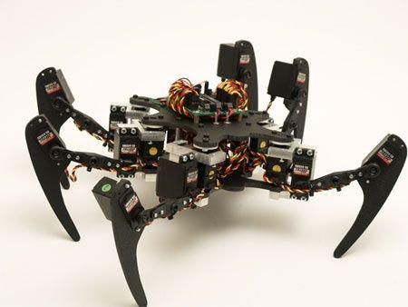 (Video) Hexapod Phoenix: The spider robot