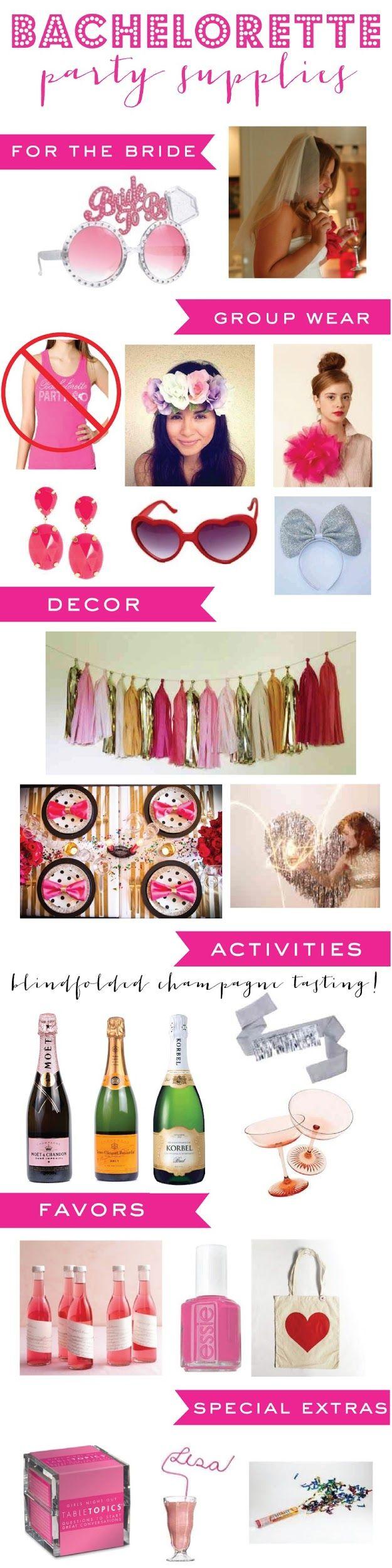 1000 ideas about bachelorette party supplies on pinterest for Bachelorette party decoration packages