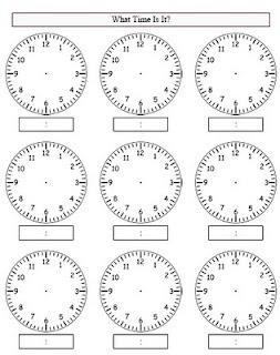 Great worksheet link for creating time worksheets!