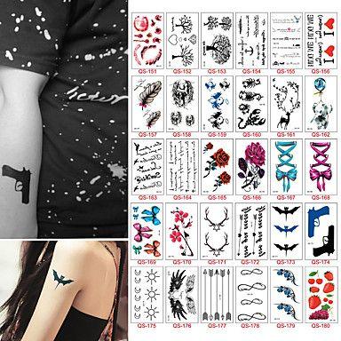 30 Tatuaggi adesivi Altro Non ToxicNeonato Bambino Da donna Da uomo Teen Tatuaggio temporaneo Tatuaggi temporanei del 5592654 2017 a €4.99