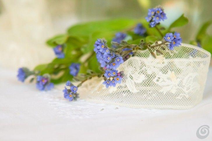 Racconti per immagini :: Decorazioni primaverili con i fiori della nonna spring flowers