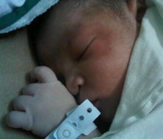 inih Azka-nya aku baru lahir :))